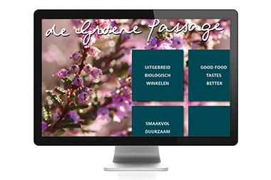 website ~ De Groene Passage