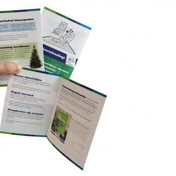 Folder jaarwisseling gemeente Woerden
