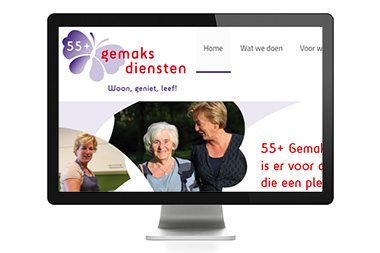 WordPress website ~ 55+ Gemaksdiensten