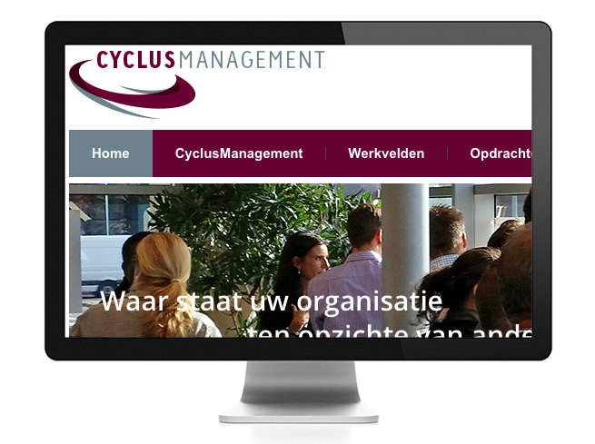 wordpress-website CyclusManagement