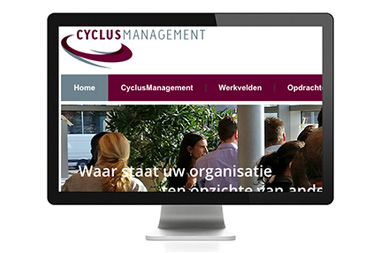 WordPress website ~ CyclusManagement
